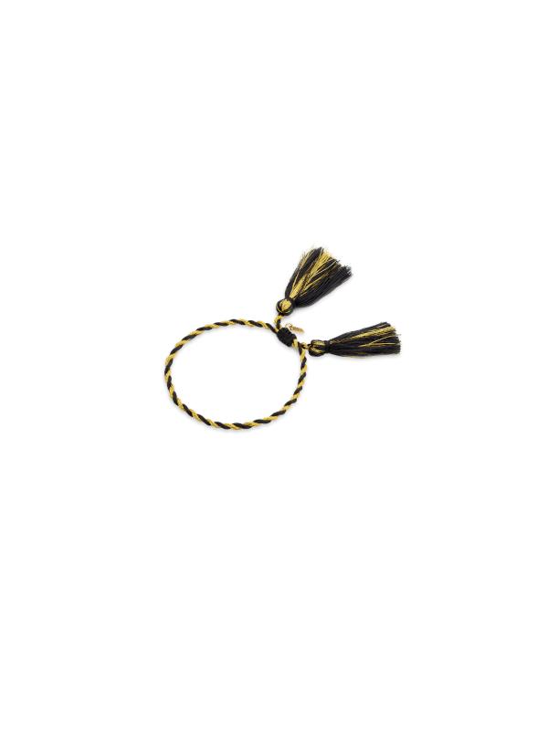BR-152.G - Bracelet SUNSET BOULEVARD (Black/gold)