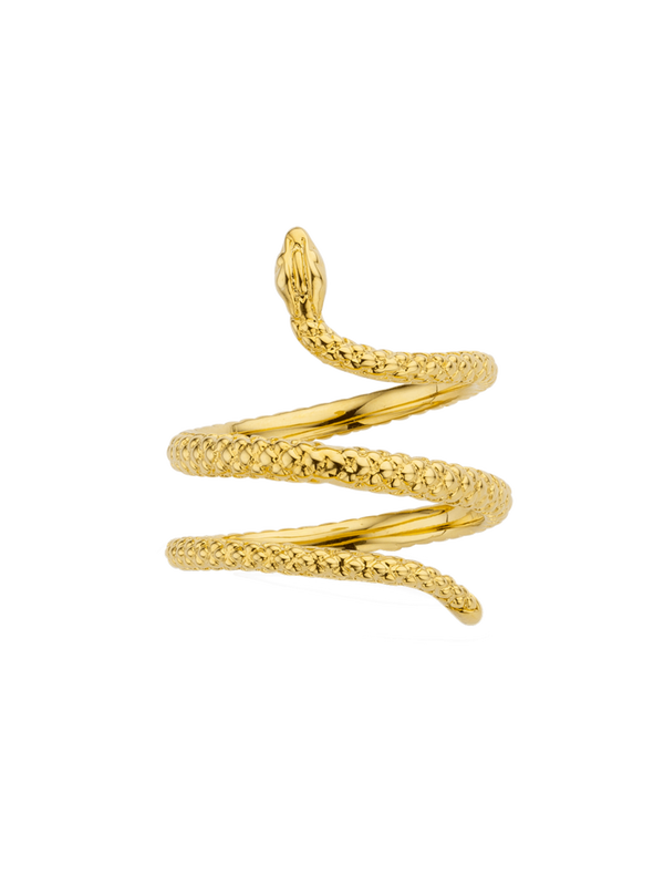 BA-204.G - Bague LOVELY SERPIENTE (Gold)