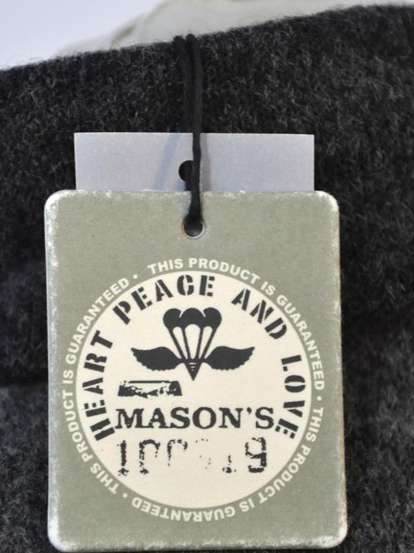 Mason's - 2GM1110 MT110 019 - Veste MAGLIA (Anthracite)