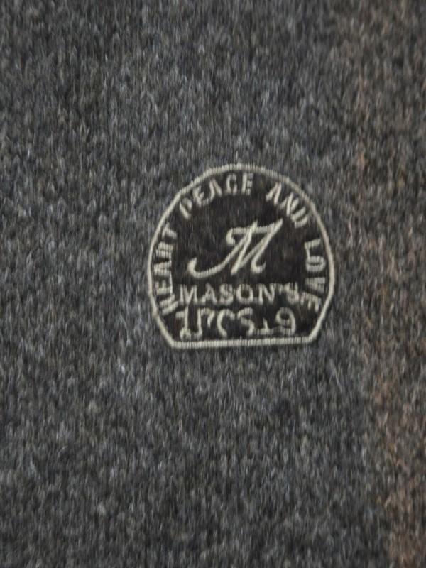 Mason's - 2GM1110 MT110 050- Veste MAGLIA (marron)