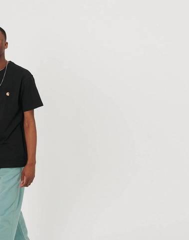 I026391_89_90 - S/S Chase T-Shirt  (Black/gold)