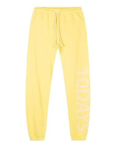 20-016-1201 1100 - Slim jogger logo (Lemon)