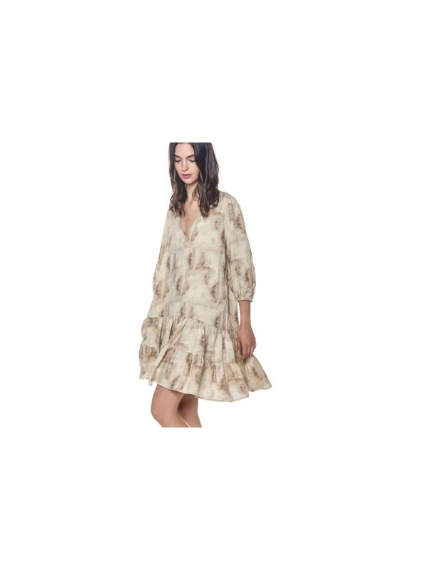 4AB4300 LB16S13 977 - Robe ANNA  (Kaki)
