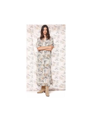 4AB3740B VI50S26 001 - Robe COLETTEDRESS  (Bianco)