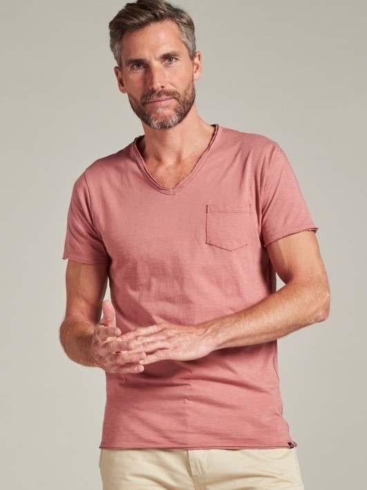 202636 436 - Steward Tee (Old Rose)