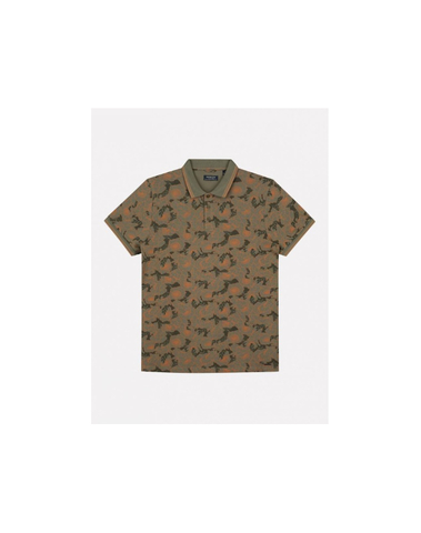 202642 511 - Polo Blooms (Army Green)