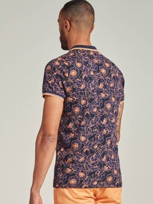 202642 669 - Polo Blooms (Navy)