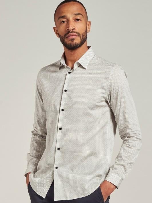 303406 100 - Shirt printed (White)
