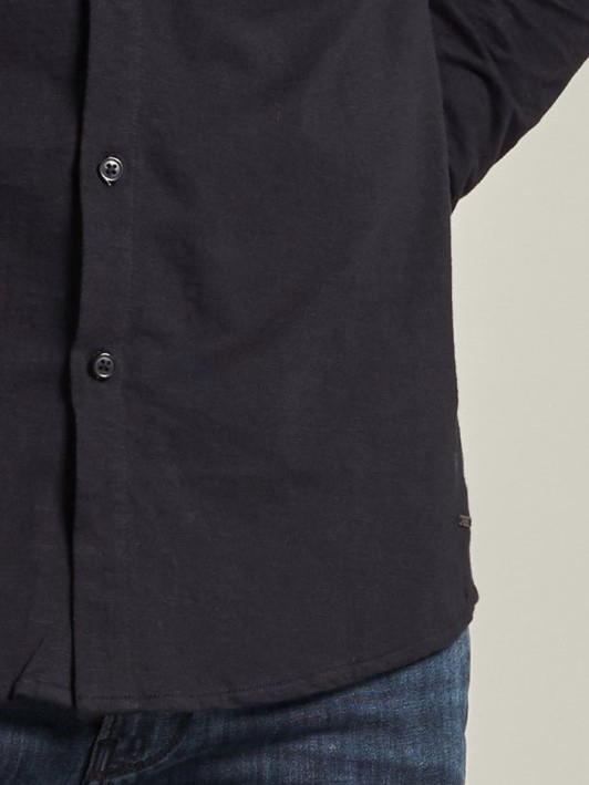 303428 999 - Knitted shirt  (Black)