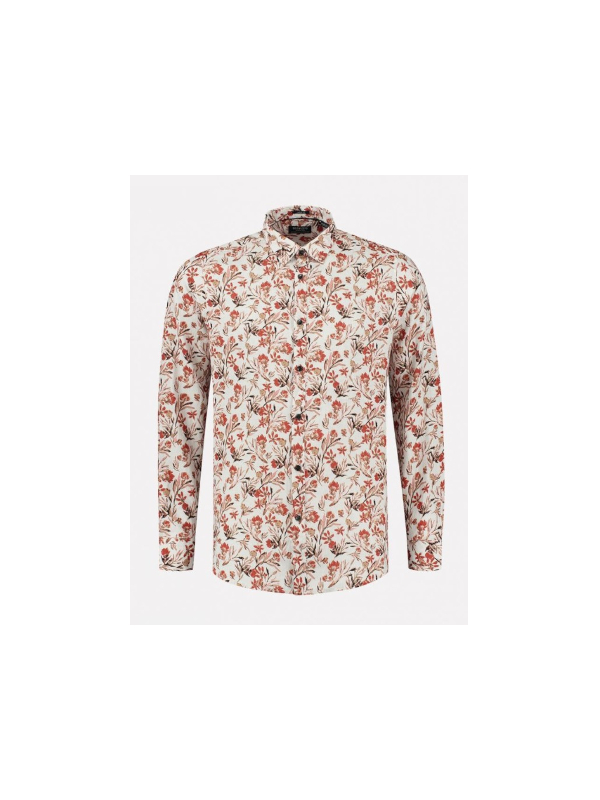 303430 100 - Shirt Small Flower (Offwhite)