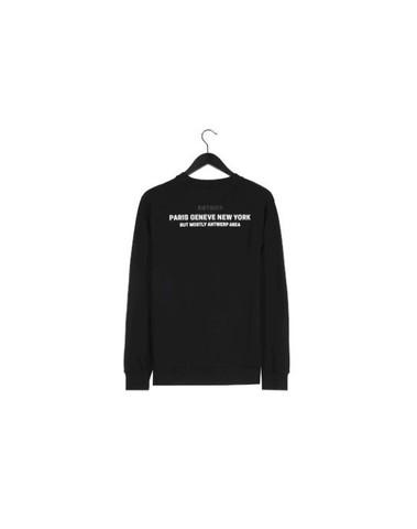 BSW019-L008 200 - Sweat (Black)