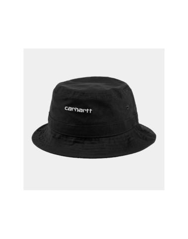 I026217 8990 - Script Bucket Hat  (Black/white)