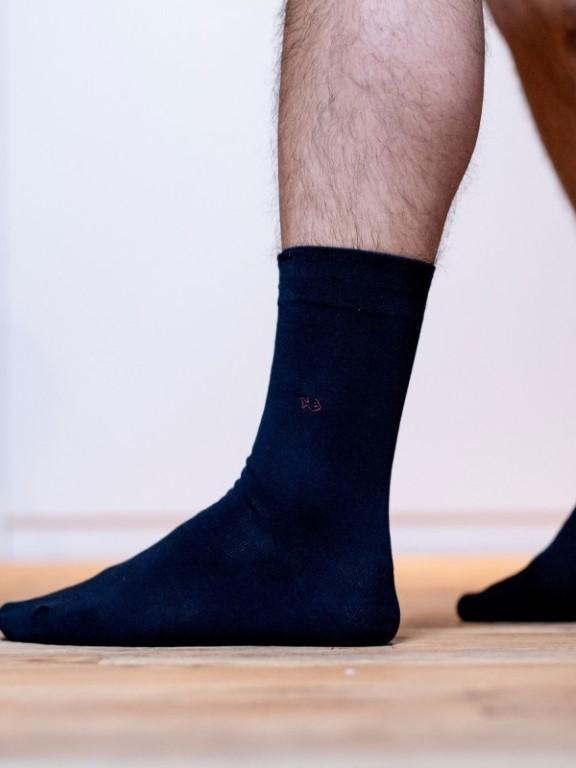 U01 - Chaussettes ( Bleu Marine )