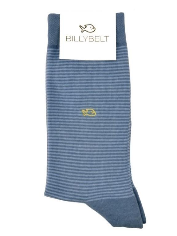 RA18 - Chaussettes fantaisie ( Bleu Jean )
