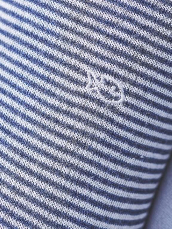 RA13 - Chaussettes fantaisie ( Bleu Minéral )