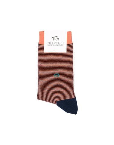 RA02 - Chaussettes fantaisie ( Corail )