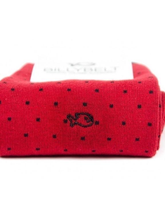 FA10 - Chaussettes fantaisie ( Rouge )