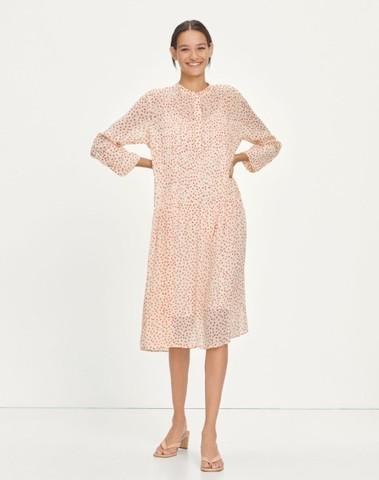F18102073 00522 - Elm shirt dress aop (Pearl drops)