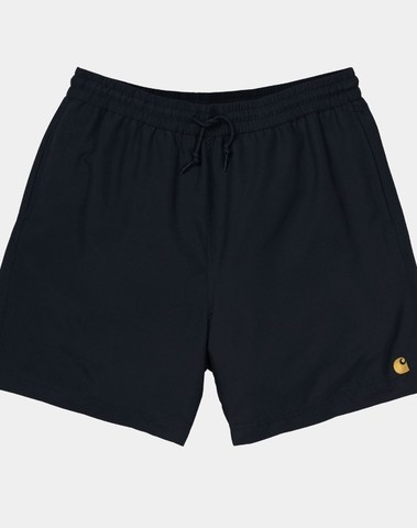 I026235 8990 - Chase Swim Trunks  (Black/gold)
