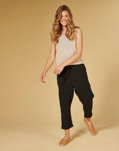 20-047-1201 1012 - Pants crinkle (Black)