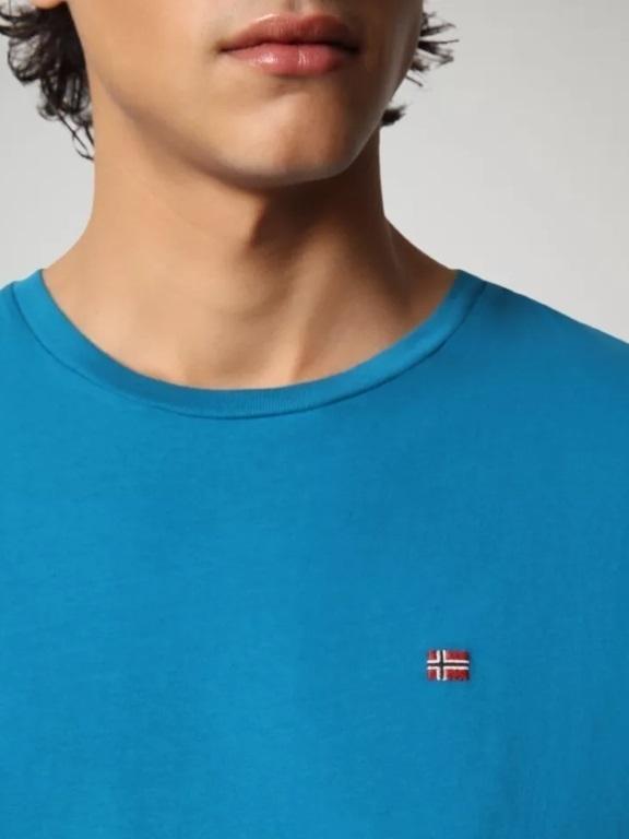 SALIS BC9 - Tshirt s/s  (Mykonos blue)