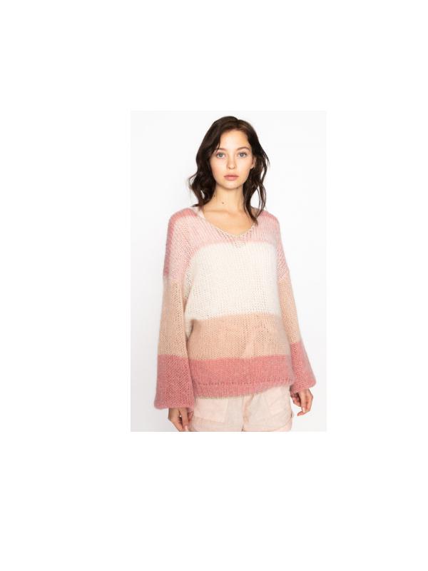 MALIBU 24 - Stripedd jumper (Jade)