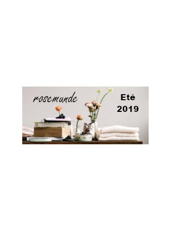 Collection SUMMER 2019 Rosemunde