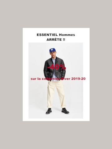 Collection AW19 Essentiel Hommes
