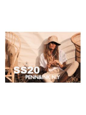 Collection Eté 2020 Penn&Ink N.Y.